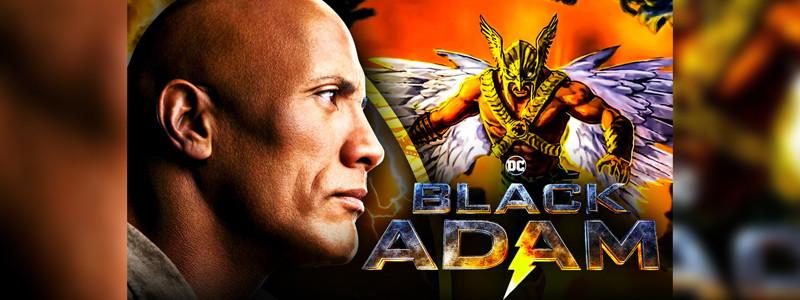 Исполнитель Человека-ястреба показал фото со съемок «Черного Адама»