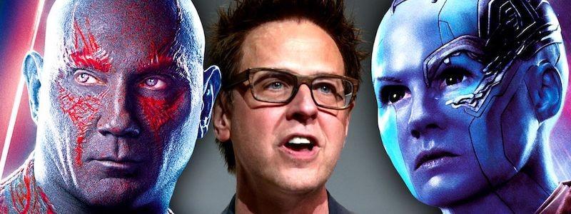 «Стражи галактики 3» будет последним фильмом Marvel для Джеймса Ганна