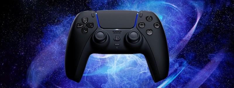 Представлен черный контроллер DualSense для PS5