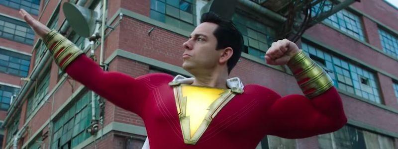 Первый тизер и кадры фильма «Шазам 2: Ярость богов» показали новый костюм
