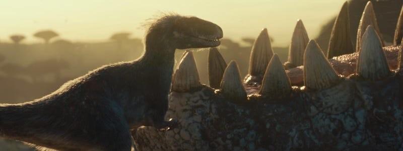 Первый постер фильма «Мир Юрского периода 3: Господство»