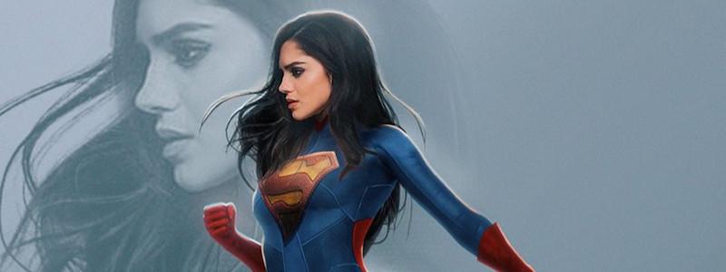 Первый взгляд на Супергерл в киновселенной DC. Костюм напоминает Супермена Генри Кавилла