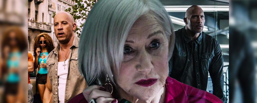 Хелен Миррен могла появиться в «Форсаже 9», чтобы позлить Дуэйна Джонсона