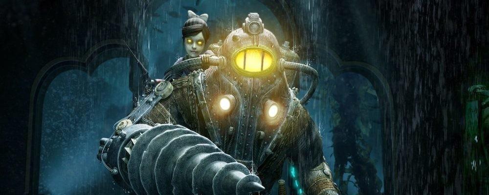 Показан Большой Папочка без шлема из BioShock
