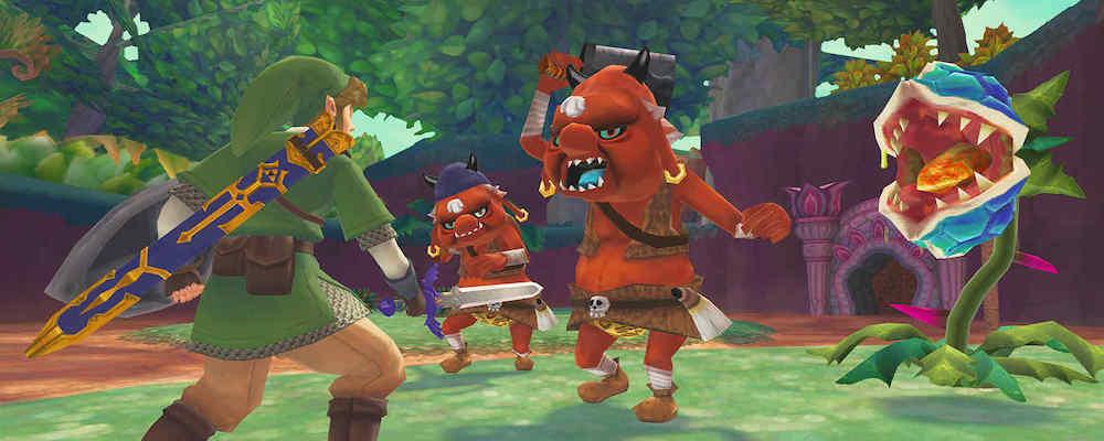 Трейлер выхода ремастера The Legend of Zelda: Skyward Sword для Switch