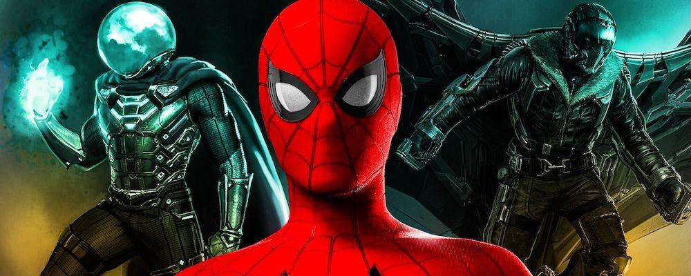 Стильный постер фильма «Человек-паук: Нет пути домой» от художника