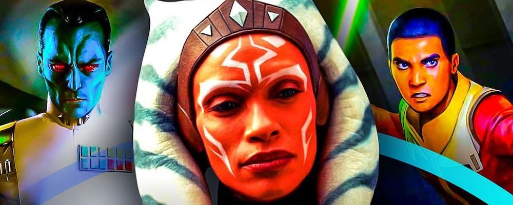 Розарио Доусон отреагировала на кастинг Эзры и Трауна в «Асоке»