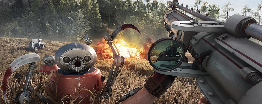 Детали Atomic Heart: как игра работает на PS4, транспорт и концовки
