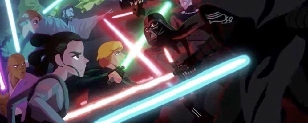 Появился полноценный трейлер аниме «Звездные войны: Видения»