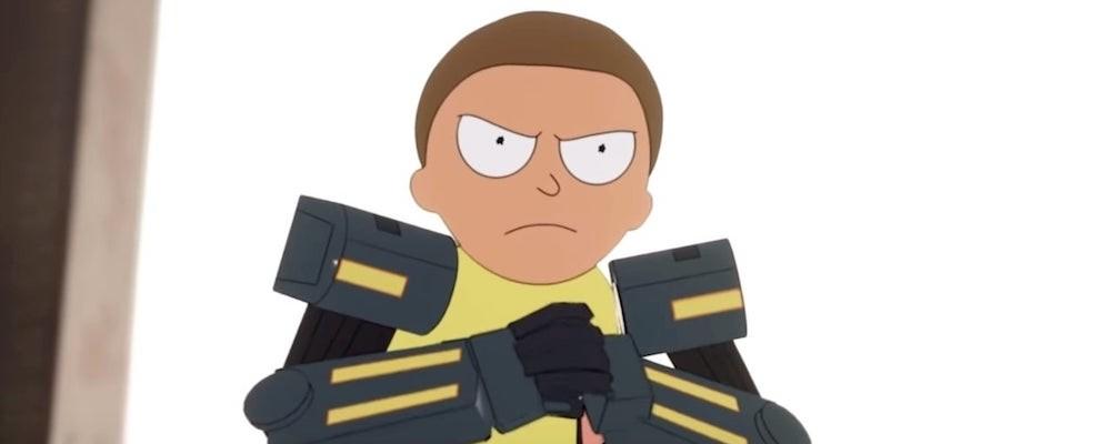 В Fortnite появился новый скин по «Рику и Морти»