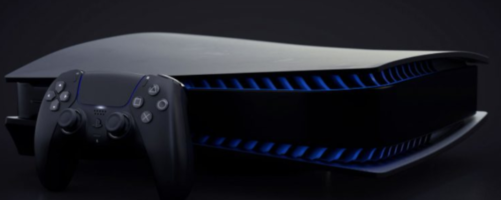 Похоже, PS5 в черном цвете скоро выйдет