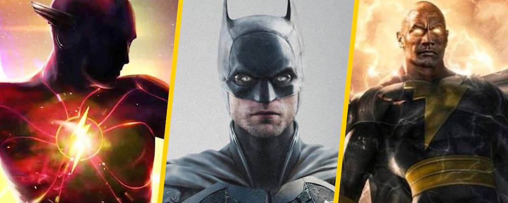 Новые кадры «Черного Адама» и «Бэтмена» в трейлере DC FanDome 2021