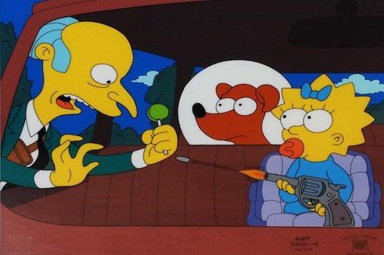 Симпсоны»: Изначально не Мэгги стреляла в мистера Бернса