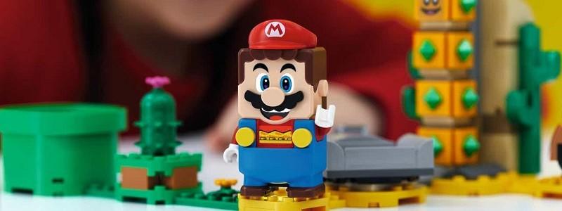 Представлены цены на наборы LEGO Super Mario