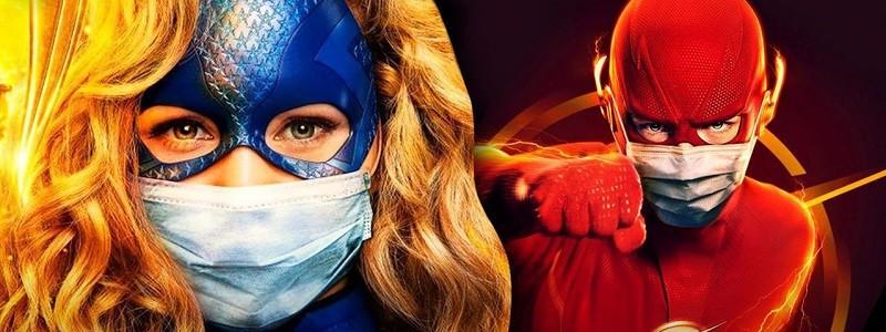 Флэш носит маску на новом постере Arrowverse