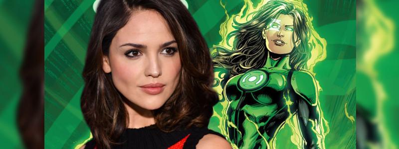Как Эйса Гонсалес выглядит в роли Зеленого фонаря в киновселенной DC