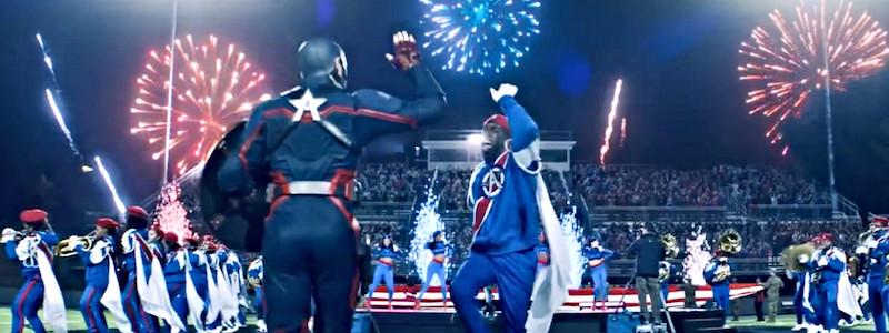 Тизер нового Капитана Америка в промо сериала «Сокол и Зимний солдат»