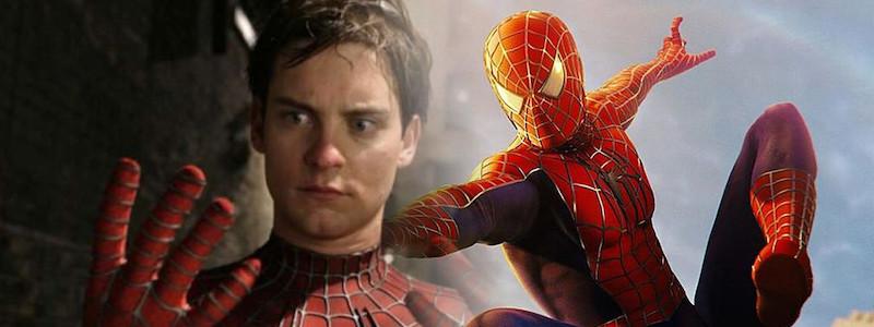 Как Тоби Магуайр выглядит в образе постаревшего Человека-паука