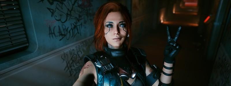 Игрок улучшил внешность женской версии Ви из Cyberpunk 2077