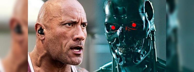Слух: Дуэйн Джонсон заменит Арнольда Шварценеггера в «Терминаторе 7»
