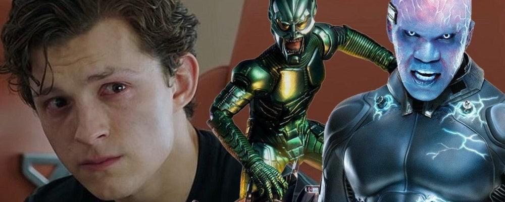 Тизер появления Зеленого гоблина и Электро в «Человеке-пауке: Нет пути домой»