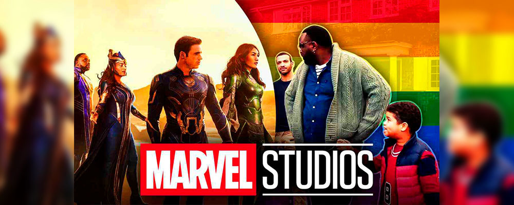 Показана первая ЛГБТ-семья в киновселенной Marvel - причина рейтинга R у «Вечных»