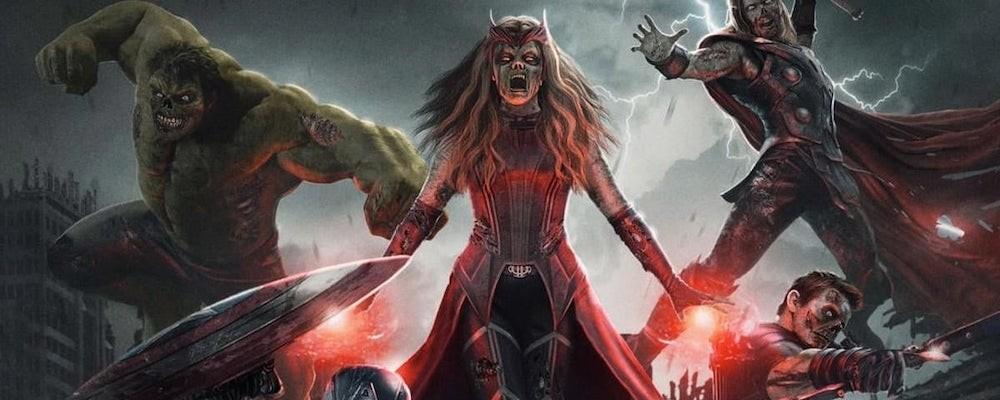 Мертвые герои на постере «Мстителей: Зомби» от фаната