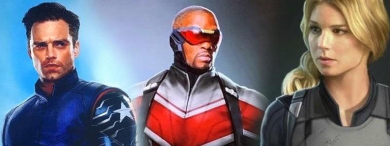 Раскрыто, когда выйдет сериал «Сокол и Зимний солдат» от Marvel