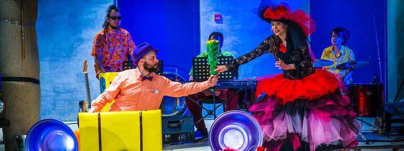 Рецензия на детский спектакль «Jumb Lee Ya», Электротеатр Станиславский. Регги-вечеринка в театре