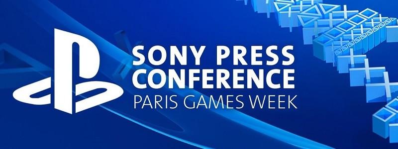 Смотрим прямую трансляцию Sony PlayStation на Paris Games Week 2017. Время начала