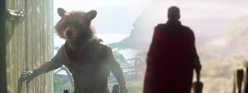 Тизер роли Енота Ракеты в «Мстителях: Финал»