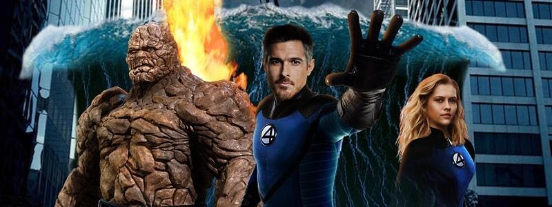 Идеальный постер нового фильма «Фантастическая четверка» от Marvel