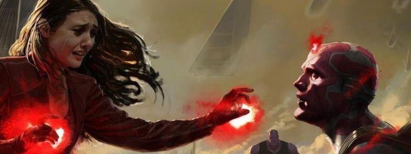 Раскрыта альтернативная сцена с Вандой и Виженом из «Мстителей: Война бесконечности»