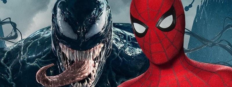 Слух Веном Тома Харди встретится с Человеком-пауком в MCU