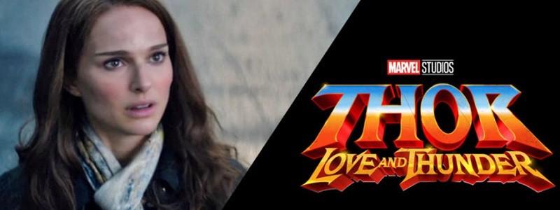 Натали Портман на постере «Тора 4: Любовь и гром»