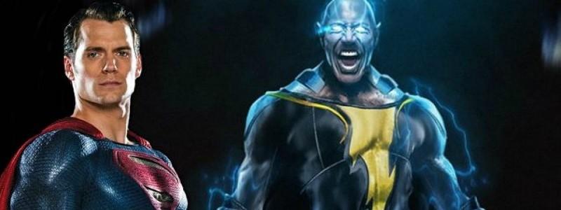 Супермен появится в фильме «Черный Адам 2»