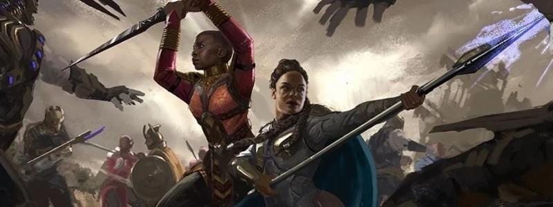 Окойе и Валькирия на новом изображении «Мстителей: Финал»