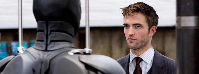 Утечка: как выглядит Роберт Паттинсон в роли Брюса Уэйна из «Бэтмена»