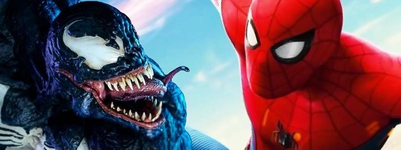 Человек-паук оказался на этом постере «Венома 2»
