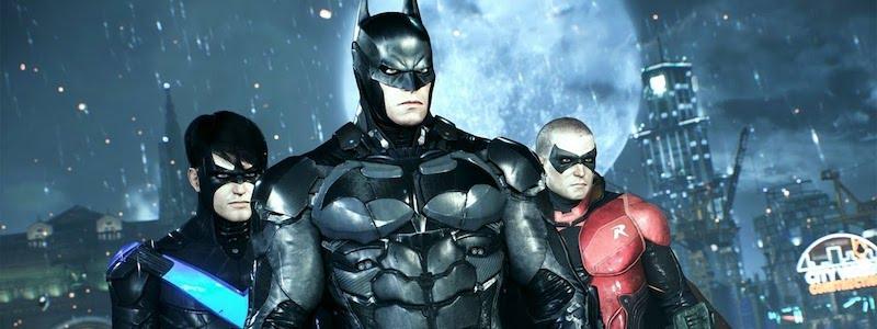 Утекли изображения новой игры про Бэтмена