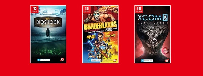 BioShock, XCOM 2 и Borderlands выйдут на Nintendo Switch в мае