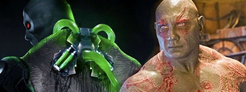Как Дэйв Батиста выглядит в роли Бэйна из «Бэтмена»