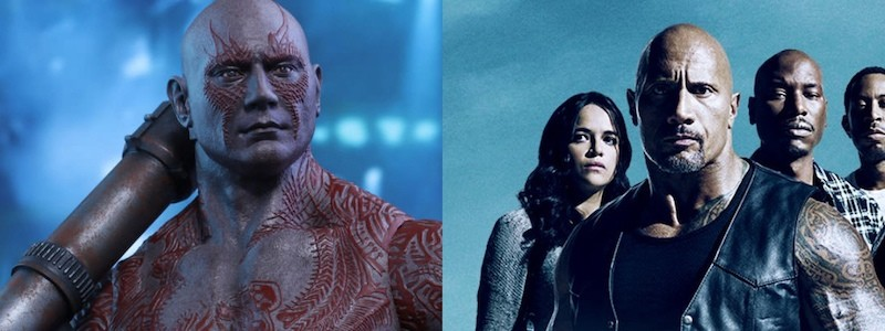Звезда Marvel Дэйв Батиста отказался от роли в «Форсаже»