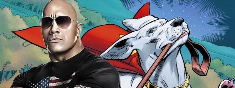 Дуэйн Джонсон сыграет собаку Супермена в новом проекте DC