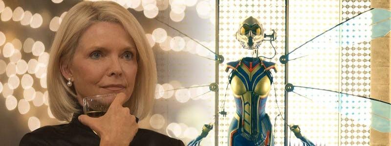 Мишель Пфайффер показала тренировки к фильму «Человек-муравей и Оса: Квантомания»