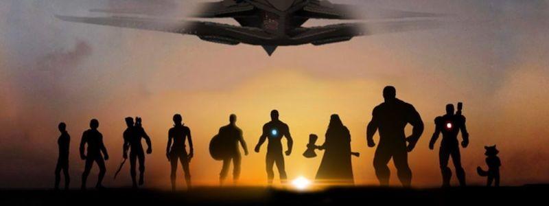 Появился постер фильма «Мстители: Финал» в стиле «Вечных»