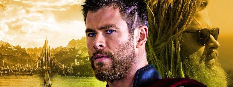 Официальное изображение изменившегося Тора из фильма «Любовь и гром»