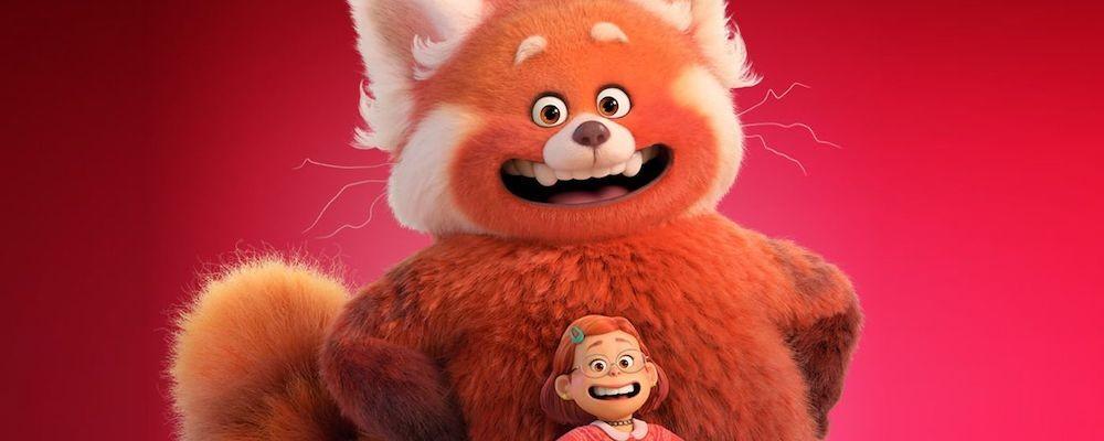 Большая панда в первой трейлере «Я краснею» от Pixar