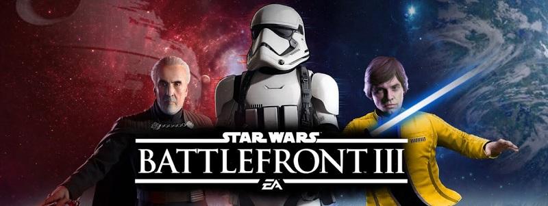 Какой должна быть игра Star Wars: Battlefront 3 от EA