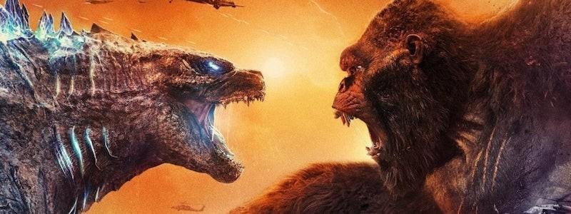 Тизер финального боя на постерах «Годзиллы против Конга»